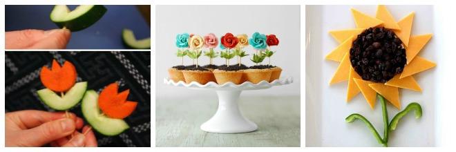festa-a-tema-fiori-buffet