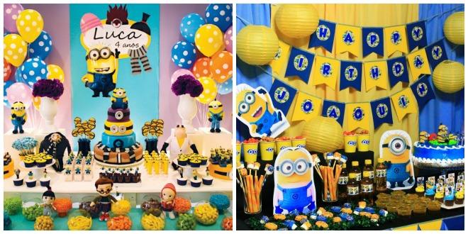 spesso Festa di compleanno Minions e Cattivissimo Me | Feste e compleanni GY18