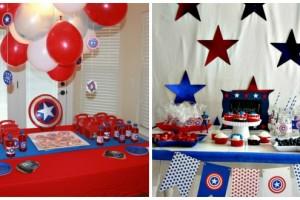 Festa di compleanno Capitan America