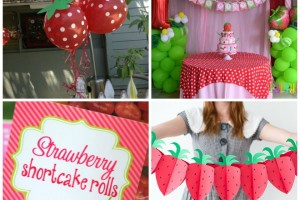 Compleanno tema Fragola: strawberry party