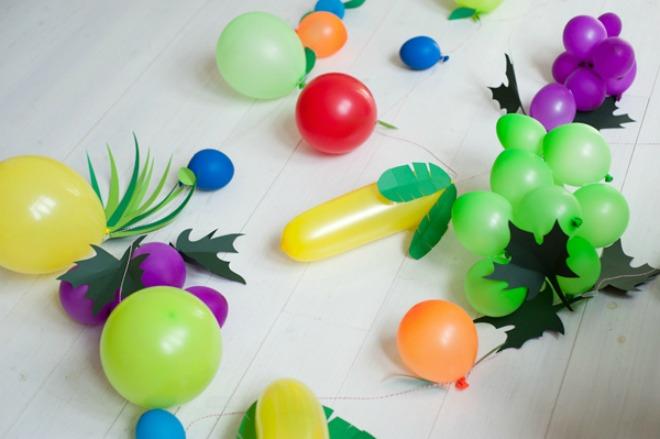 giochi con i palloncini