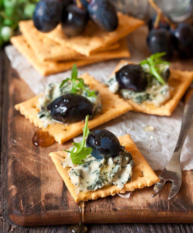 Conosciuto Tartine e stuzzichini con i crackers | Feste e compleanni QF84