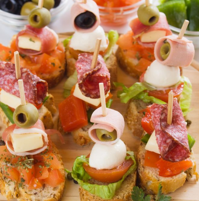 Favorito Tartine e stuzzichini con pane baguette | Feste e compleanni AI89