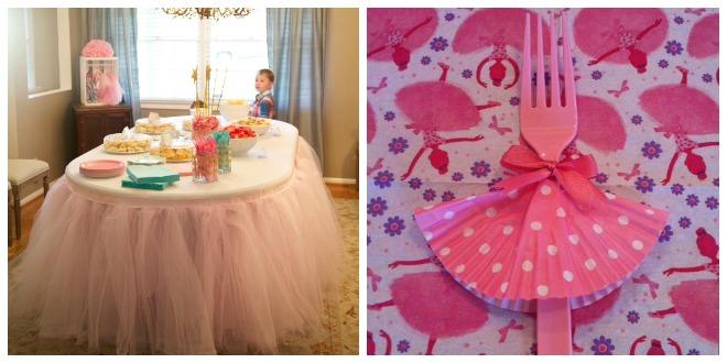 Compleanno a tema ballerina feste e compleanni - Decorazioni per compleanni fai da te ...