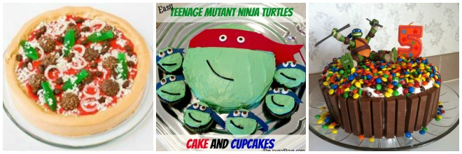 Torte-festa-tartarughe-ninja