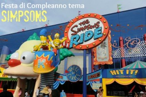 Compleanno a tema Simpson