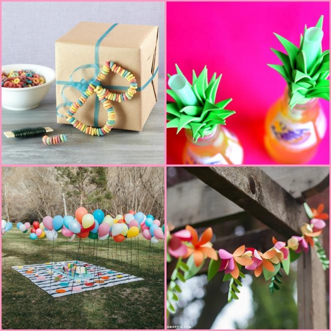 Decorazioni originali per il compleanno | Feste e compleanni
