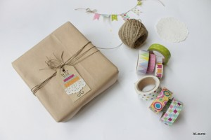 Tag e biglietti di compleanno con washi tape