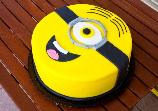 Amato torta-compleanno-minions | Feste e compleanni TY65