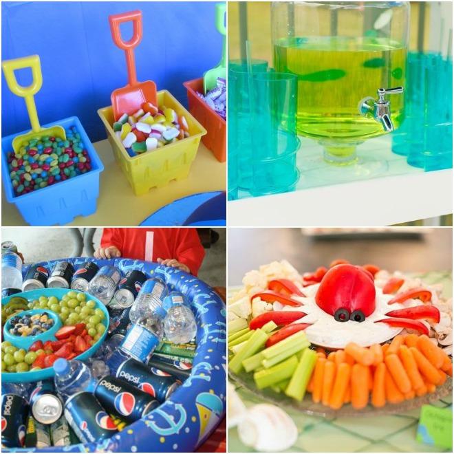 Festa di compleanno in piscina feste e compleanni for Addobbi per feste in piscina
