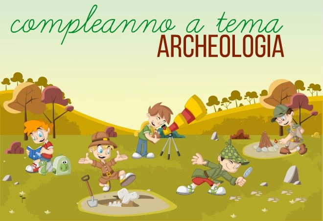 compleanno-bambini-tema-archeologo-archeologia-dinosauri