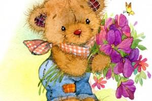 Compleanno Teddy Bear