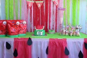 Festa di compleanno a tema ANGURIA