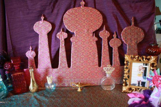 Festa di compleanno aladdin e jasmine feste e compleanni for Aladdin decoration ideas