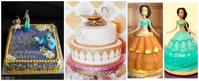 festa-compleanno-aladdin-torta