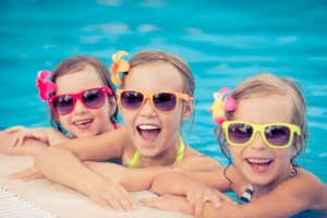 Festa di compleanno in piscina