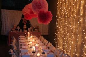 Festa romantica sotto le stelle