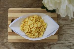 Come servire le patatine al compleanno dei bambini
