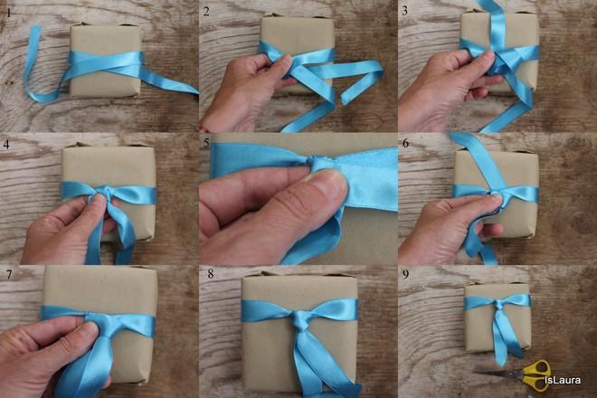 Bien connu come-confezionare-un-pacco-regalo-con-fiocco-a-cravatta | Feste e  ZT72