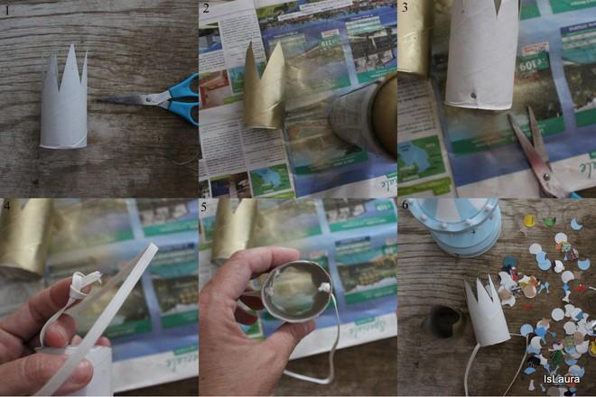 coroncine-con-tubo-di-cartone-