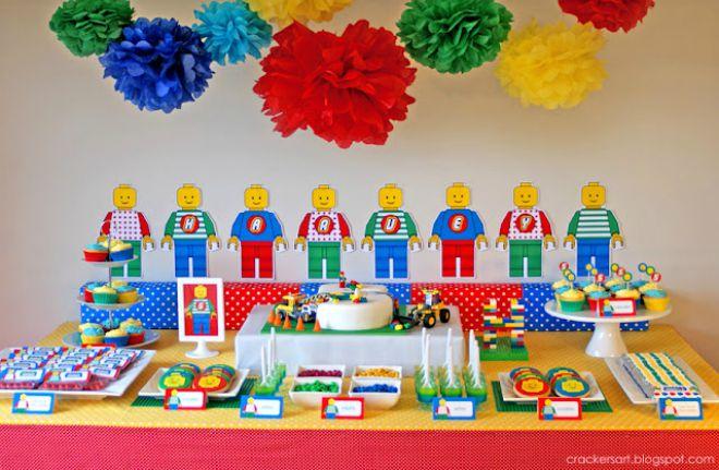 Extrêmement Lego party: festa a tema costruzioni | Feste e compleanni NN25