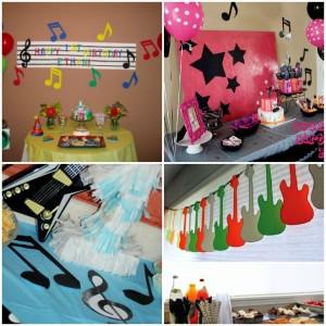 compleanno-a-tema-musica-decorazioni  Feste e compleanni