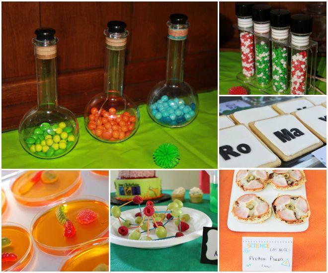 compleanno-a-tema-scienza-buffet