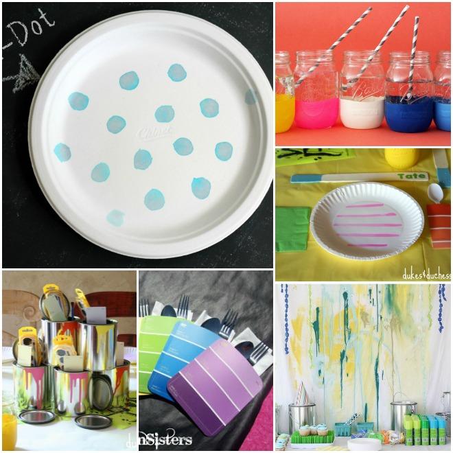 festa-a-tema-pittori-decorazioni