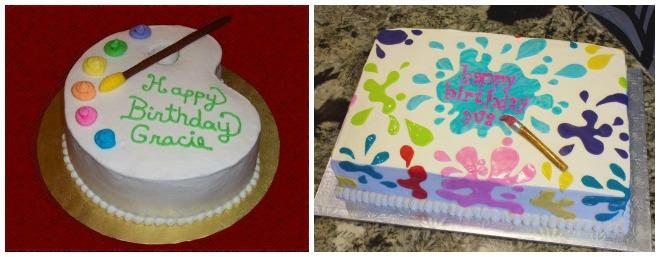 festa-a-tema-pittori-torta