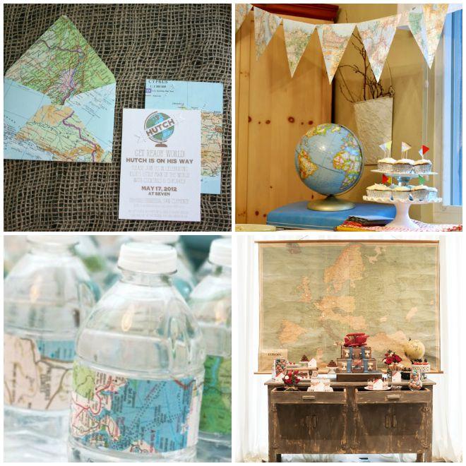 festa-a-tema-viaggi-decorazioni-mappe