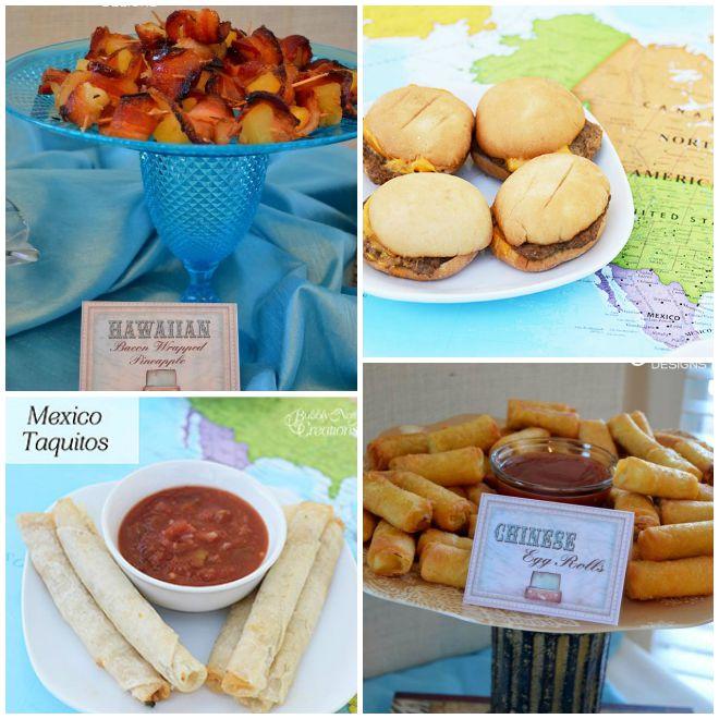 festa-a-tema-viaggiatore-buffet