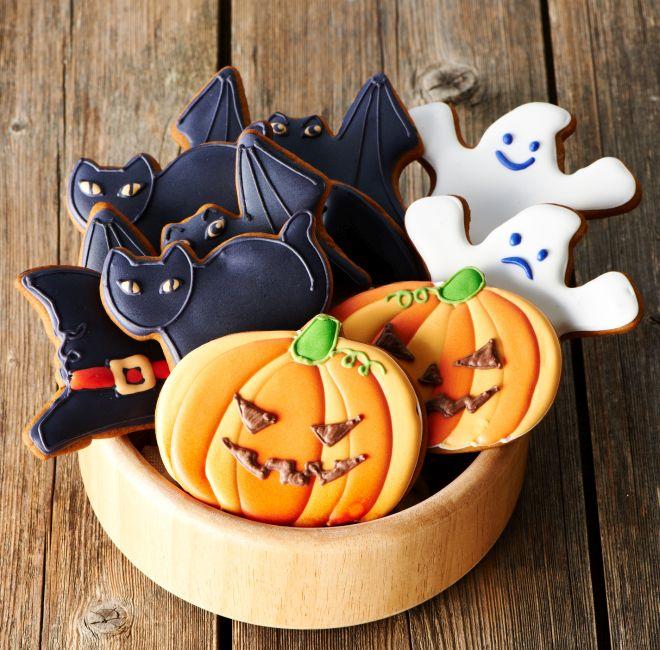 Biscotti di halloween per bambini feste e compleanni - Festoni compleanno fatti in casa ...