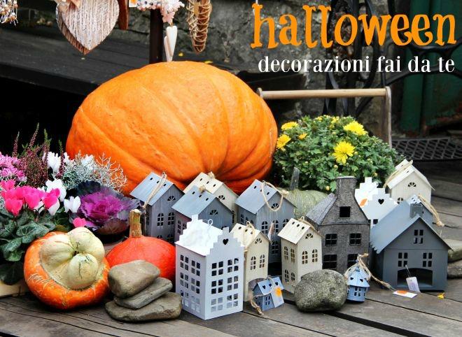 Decorazioni fai da te per la festa di halloween feste e for Fai da te decorazioni