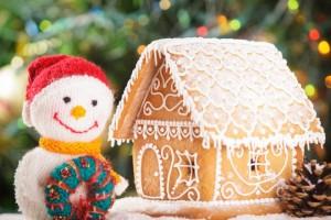Festa di compleanno d'inverno a tema pupazzo di neve