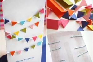 Idee per biglietti di compleanno fai da te