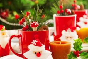 Idee per decorare la tavola di Natale