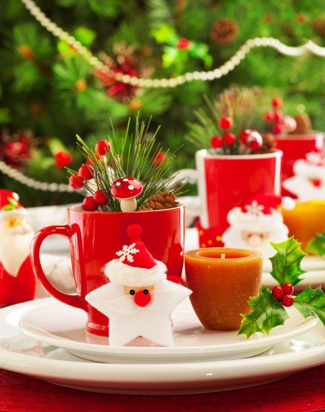 Idee per decorare la tavola di natale feste e compleanni - Decorazioni per la tavola di natale ...