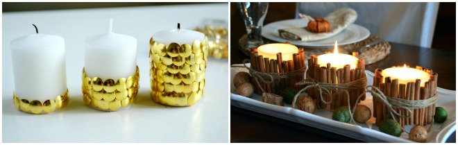 decorare-tavola-natale-candele