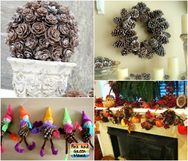 Famoso Decorazioni di Natale con le pigne | Feste e compleanni OT24