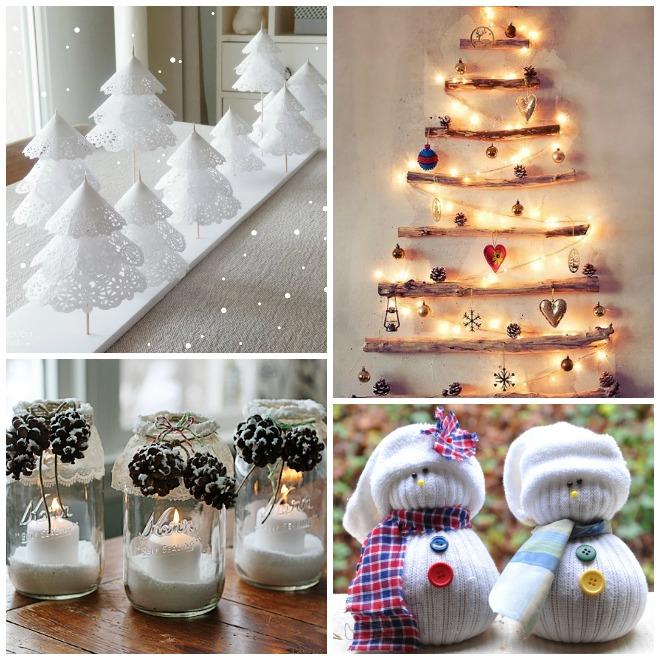 Decorazioni natalizie fai da te - Decorazioni tavola capodanno fai da te ...