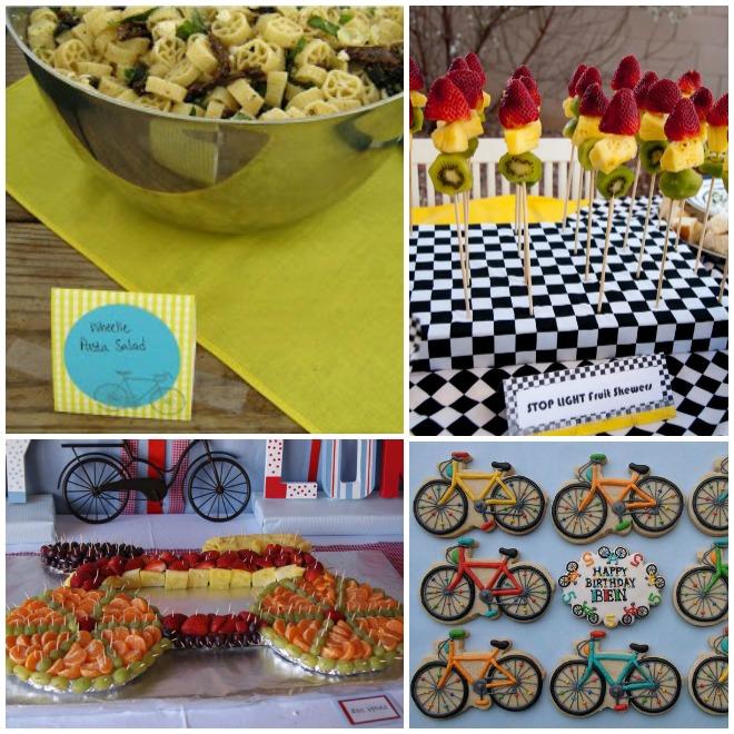 festa-a-tema-bicicletta-buffet