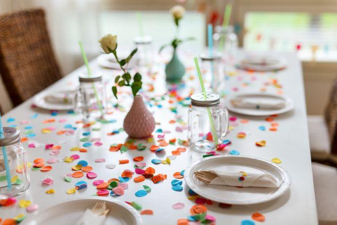 Tavolo Compleanno Natale : Segnaposto ecologici per la tavola di natale