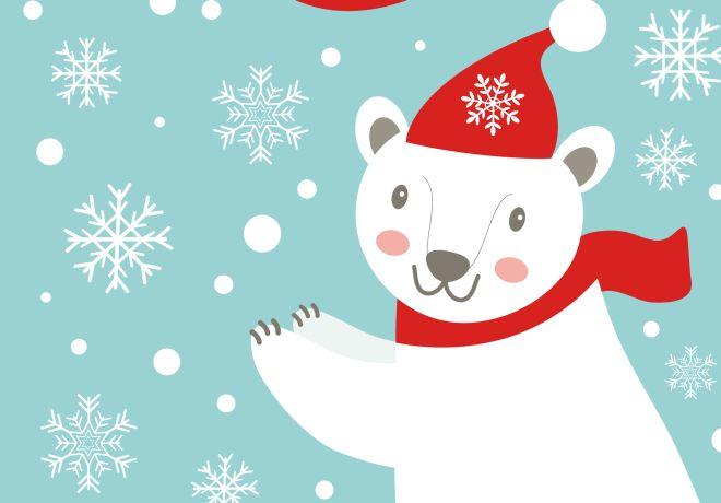 festa-di-compleanno-in-inverno-tema-orso-polare