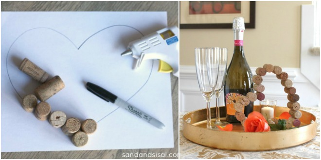Decorazioni fai da te per san valentino feste e compleanni - Decorazioni tavola san valentino ...