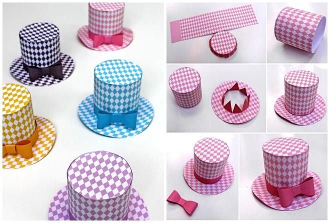 Festadi compleanno a tema cappello for Papillon bambino fai da te