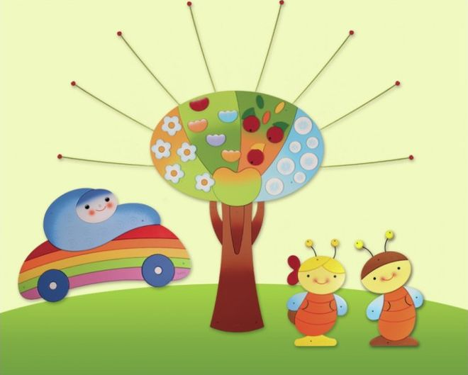 come-appendere-disegni-per-bambini