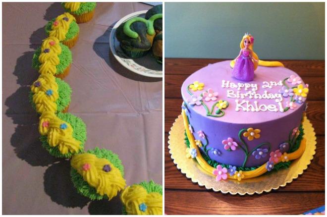 compleanno-a-tema-rapunzel-torta