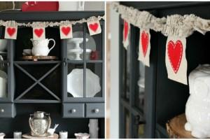 Decorazioni fai da te per San Valentino
