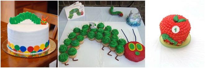 festa-compleanno-a-tema-bruco-torta