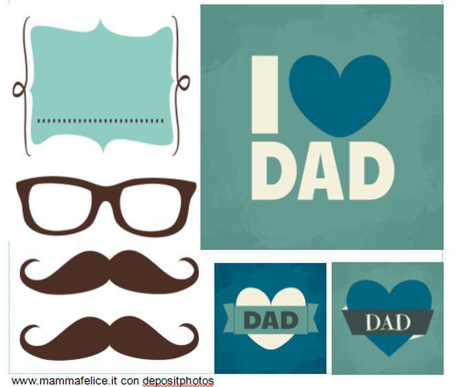Conosciuto Adesivi, tag e biglietti da stampare per la festa del papà | Feste  PW43